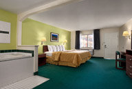 King Suite with Whirlpool Tub at Days Inn & Suites Arcata